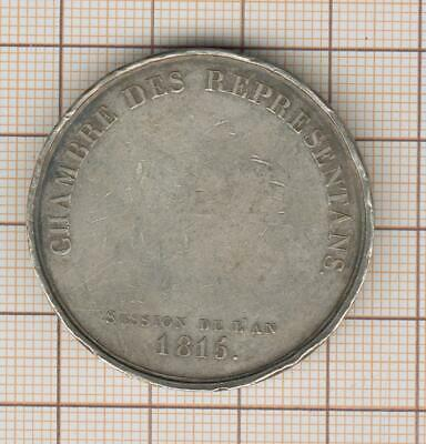 Rare Token Silver Chamber of Représentants Session of L' Year 1815