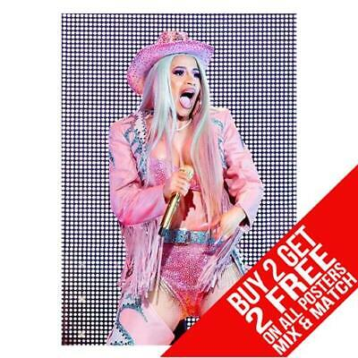 BUY 2 GET ANY 2 FREE CARDI B POSTER A4 A3 SIZE BB4 PRINT