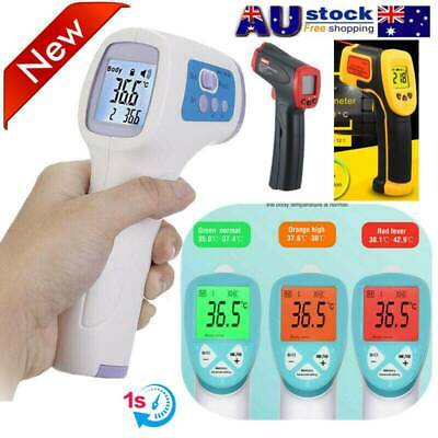 BEST LCD Digital Non-contact IR Infrared Thermometer Forehead Body Dn
