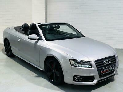 Audi A5 S Line Convertible 2.0 Tdi Manual Cab Cabriolet Diesel 2010 Sline