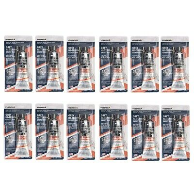 Grey RTV Silicone Gasket Maker High Temperature Multiple 12 pack