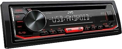 JVC KD-T402 - CD Receiver Front USB/AUX Input MP3 FLAC Android Car Radio 4x50w