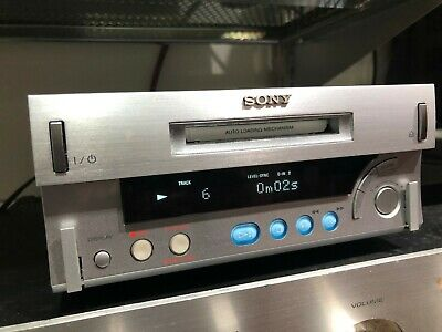 Amazing SONY MDS-SD1 Minidisc recorder player - Optical and RCA inputs