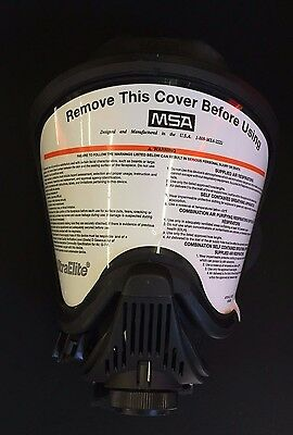 MSA 492006 Ultra Elite Respirator Facepiece MEDIUM