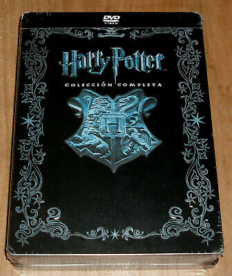 Harry Potter Collection Complete 1-8 DVD Metal Box Jumbo New Sealed R2