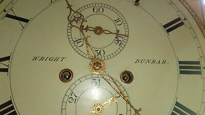 Antique carved 8day Grandfather Clock