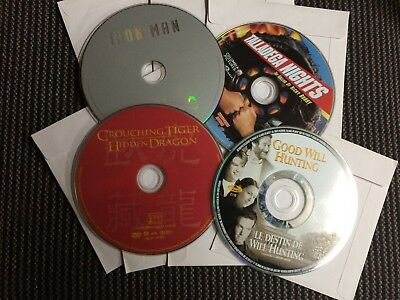 DVD movies - You pick from list - Disc only.