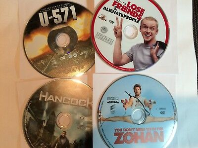 DVD movies - You pick from list. - DISC ONLY