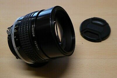 Nikon AI-s 105mm f1.8 Prime Portrait Lens - Good Condition