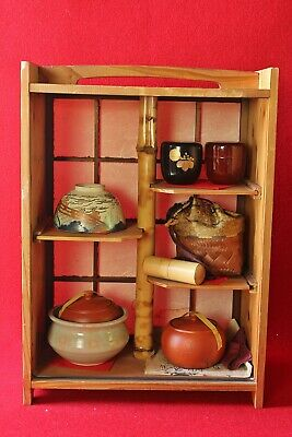 Japanese Tea Ceremony set / Nodate set / with chest