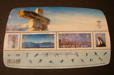 2366 - S/S - Winter Olympic Games Vancouver 2010 (Games Sites) - 2010 - Used