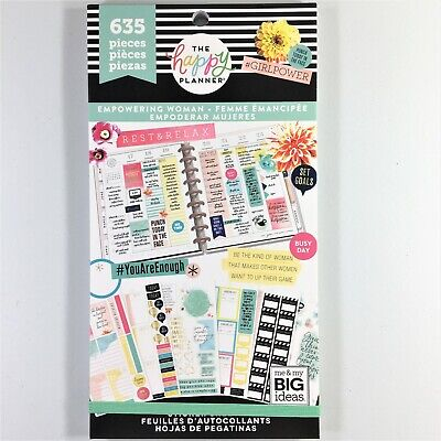 The Happy Planner Empowering Woman Sticker Book Pack Of 635 Me & My Big Ideas