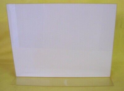 """Store Display Fixtures  NEW ACRYLIC TOP LOAD SIGN HOLDER 8.75"""" WIDE X 11"""" HIGH"""