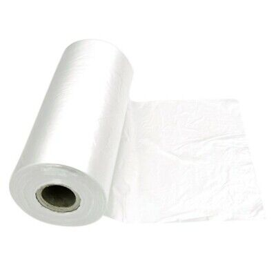 NEW Clear Plastic Bag Rolls - 250mm - 1.5kg roll - ROLL - Kent Paper