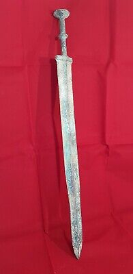 Ancient Luristan Bronze Gladius Batttle Relic Huge