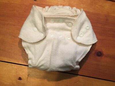 Green Baby Diaper Co. Organic Cotton Flannel AIO Cloth Diaper - Use w/ Cover