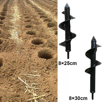 Auger Drill Bits For Garden Bulb Planter Hand-Held Outdoor Accessories