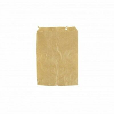 NEW Brown Paper Bags - 140mm - PACKET(1000) - Kent Paper
