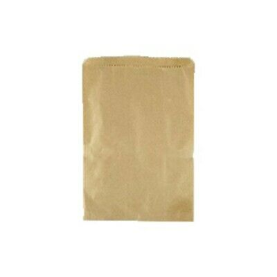 NEW Brown Paper Bags - 165mm - PACKET(500) - Kent Paper