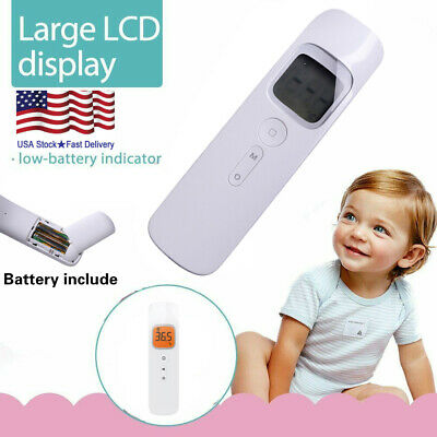 Medical Body Grade Non Contact Digital Infrared Temporal Forehead Thermometer US