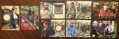 Topps Walking Dead Card Lot Morgan, Maggie and More!