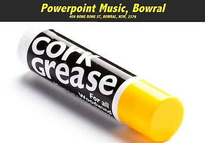 Herco Cork Grease - Lipstick Style Tube - For Clarinet, Sax & Woodwind