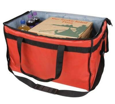 Insulated Food Pizza Carry Delivery Bag Large Hot/Cold Takeaway Cafe Restuarant