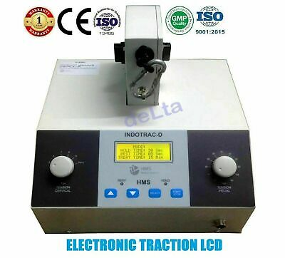 Model Electronic Cervical & Lumbar Traction Unit INDOTRAC-D LCD Traction Machine