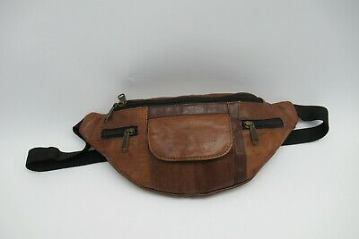 Everest Unisex Small Size Bumbag Waist Pack Real leather