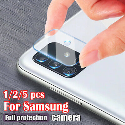 For Samsung Galaxy S20 Ultra Plus A71 A51 Tempered Glass Camera Lens Protector