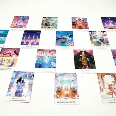 44-Card Work Your Light Oracle Cards By Rebecca Campbell A Deck Magic Game