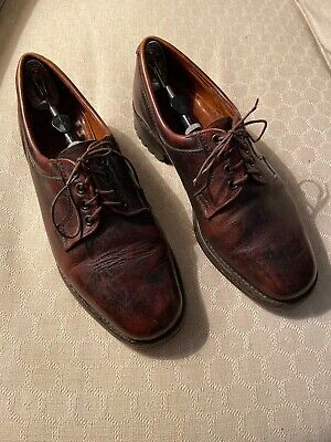 Rare Vintage Purdey London Shooting Leather Derby Shoes Size 6 1/2