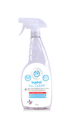 24 Hour Disinfectant Cleaner Stain and Odour Remover Byotrol All Clear 750ml