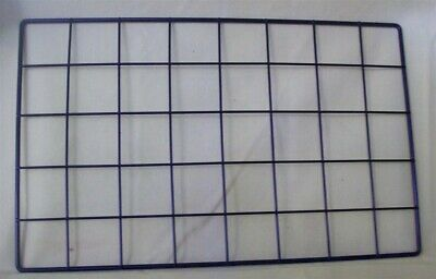 "Store Display Fixtures 24 NEW GRID CUBE PANELS 10"" x 16"" Black"