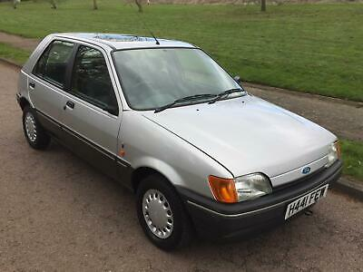 Ford Fiesta Ghia 1.4I Auto 1991 Only 28,000 Miles 1 Family Owner Moden Classic