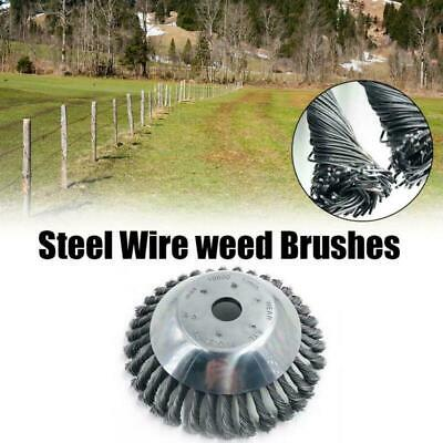 Uk Weed Brush Steel Wire Wheel For Brush Cutter Replace Dust Removal Deburring