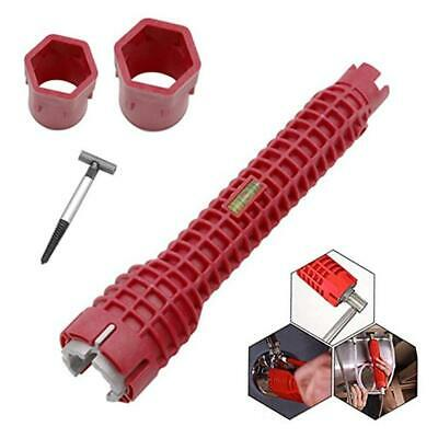 8-In-1 Faucet & Sink Installer Tool Multifunctional Water Pipe Wrench Spanner