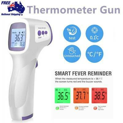 AU Digital Non-contact IR Infrared Thermometer Forehead Body Temperature jS
