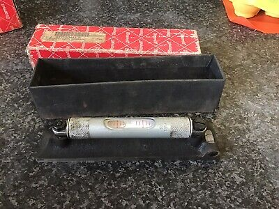 "Starrett No.98 Machinists Level 6"" Decent Condition FREEPOST Included"