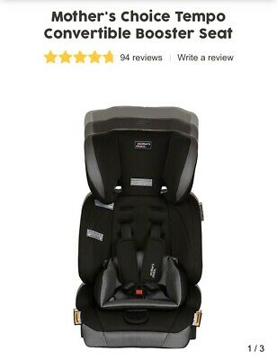 Mother's Choice Tempo Convertible Booster Seat