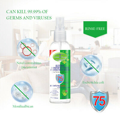 Alcobol Disinfection Protective Spray Instanty Kill 99.99% of Ferms and Viruses