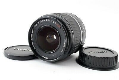 """Near Mint"" Canon EF-S 18-55 mm f/3.5-5.6 Ⅱ AF Lens  From Japan #020"
