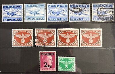 Germany Third Reich 1942-1944 Military issues MNH/MLH & Used