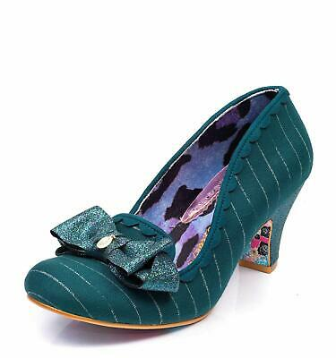 Black Mid Heel Bow Shoes Loads More Styles AI Irregular Choice /'Kanjanka/'