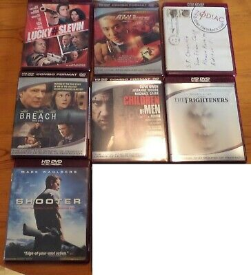 HD DVD  lot of 7