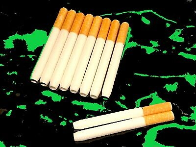 """10 Pack 3"""" Ceramic Cigarette Pipe Tube One Hitter Tobacco Smoking Dugout New"""