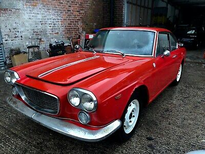 1966 Lancia Flavia 1.8 Coupe Pininfarina BARN FIND rare car, only 3 known in UK