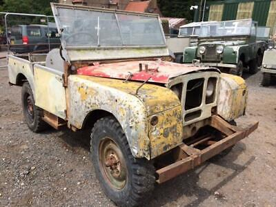 1949 Land Rover Series 1 80 inch - Chassis Number 8667836