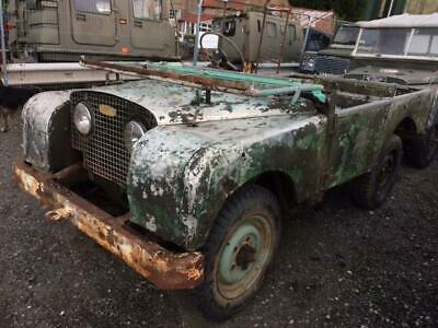 1950 Land Rover Series 1 80 inch - Lights Behind The Grill Model