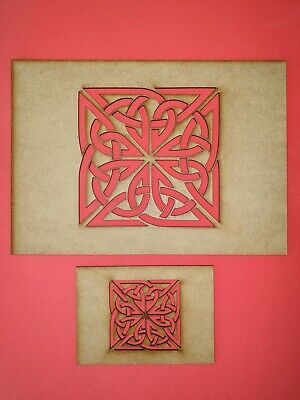 Decorative Panel Pattern Screening Grille MDF Stencil Embellishment Trible